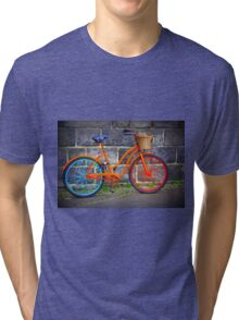 Bicycle in Iceland Tri-blend T-Shirt
