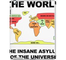 Die Welt - Das Asylantenheim des Universums! iPad Case/Skin