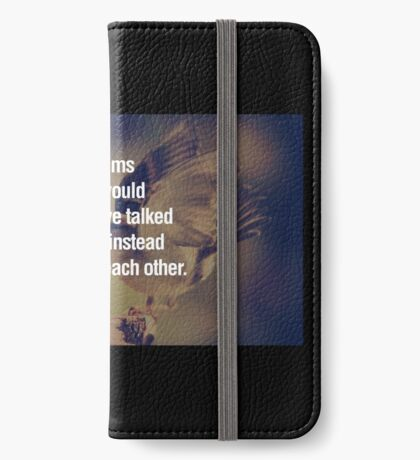 A lot of problem in the world  iPhone Wallet/Case/Skin