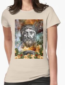 SACRED SPACE Womens Fitted T-Shirt