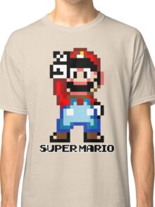 Super Mario 16 bit Victory Pose Classic T-Shirt