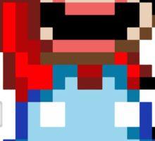 Super Mario 16 bit Victory Pose Sticker