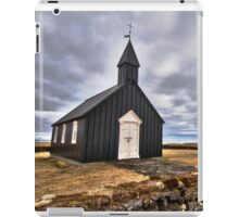 Black Church at Budir iPad Case/Skin