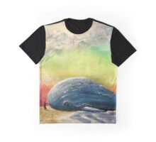 Beached Whale Graphic T-Shirt