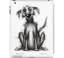 Homeless dog iPad Case/Skin