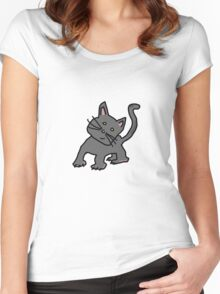 Gizmo The Cat Women's Fitted Scoop T-Shirt