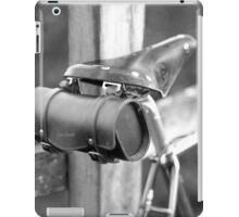 Leather saddle and bag iPad Case/Skin