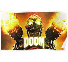 Doom - Skull Artwork Poster