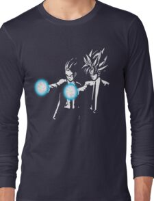 Gohan and goku action Long Sleeve T-Shirt