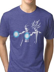 Gohan and goku action Tri-blend T-Shirt