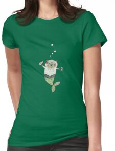 Mercat Womens Fitted T-Shirt