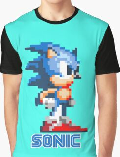Sonic the Hedgehog 16 bit Graphic T-Shirt