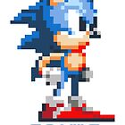 Sonic the Hedgehog 16 bit by djdna