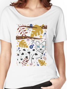 Snow Leopard Cub Women's Relaxed Fit T-Shirt