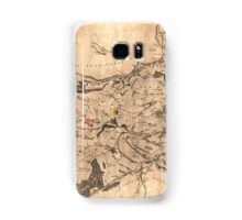 Map of the parish of Sheffield, 1795 Samsung Galaxy Case/Skin