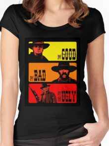 Back to the western Women's Fitted Scoop T-Shirt