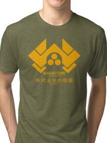NAKATOMI PLAZA - DIE HARD BRUCE WILLIS (YELLOW) Tri-blend T-Shirt