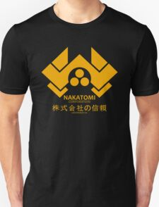 NAKATOMI PLAZA - DIE HARD BRUCE WILLIS (YELLOW) Unisex T-Shirt