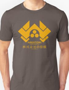 NAKATOMI PLAZA - DIE HARD BRUCE WILLIS (YELLOW) T-Shirt