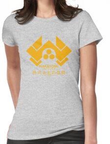 NAKATOMI PLAZA - DIE HARD BRUCE WILLIS (YELLOW) Womens Fitted T-Shirt