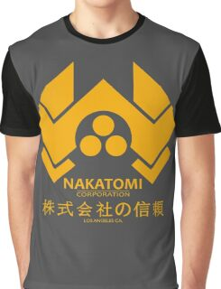 NAKATOMI PLAZA - DIE HARD BRUCE WILLIS (YELLOW) Graphic T-Shirt