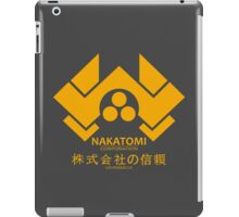 NAKATOMI PLAZA - DIE HARD BRUCE WILLIS (YELLOW) iPad Case/Skin