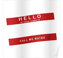 Call Me Maybe Poster