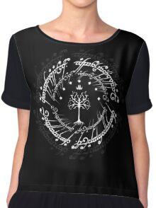 The white tree of gondor Chiffon Top