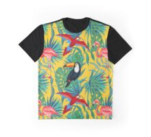 yellow tropical  Graphic T-Shirt