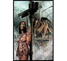 Steampunk Painting 009 Photographic Print