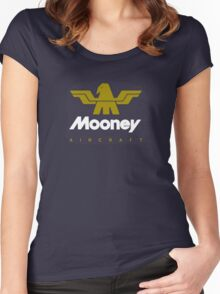 Mooney Vintage Aircraft Women's Fitted Scoop T-Shirt