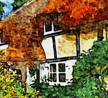 COUNTRY COTTAGES 25D2 Sticker