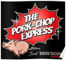 PORK-CHOP EXPRESS JACK BURTON BIG TROUBLE IN LITTLE CHINA Poster
