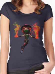 Ember Women's Fitted Scoop T-Shirt