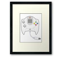 Dreamcast Controller Framed Print