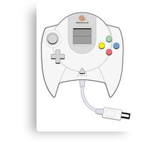 Dreamcast Controller Canvas Print