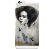 La valse des colibris iPhone Case/Skin