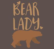 Bear Lady One Piece - Short Sleeve