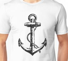 Distressed Anchor Unisex T-Shirt
