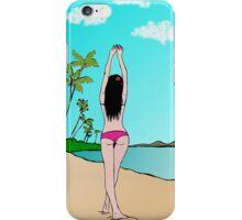 Tropical girl iPhone Case/Skin
