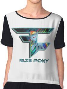 FaZe - pony Chiffon Top