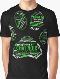 Chat Noir Graphic T-Shirt