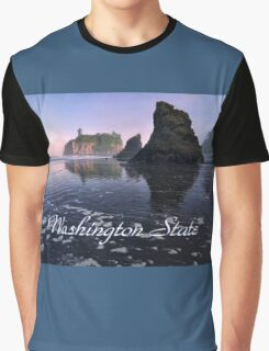 Pacific North West, Washington State Graphic T-Shirt