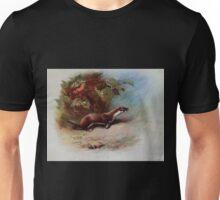 British Mammals Archibald Thorburn 1921 V1 023 Weasel Unisex T-Shirt
