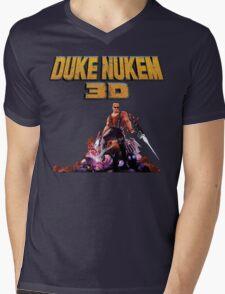 Duke 3D Mens V-Neck T-Shirt