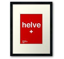 helve Framed Print