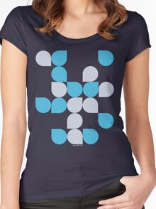 Bubbles 2 Women's Fitted Scoop T-Shirt