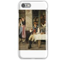 JULES SALLES WAGNER () THE HANDSOME VISITOR iPhone Case/Skin