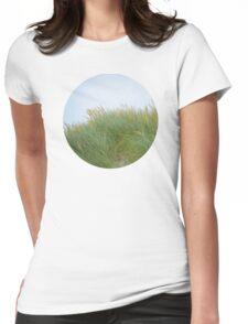 Dune Grass Womens Fitted T-Shirt