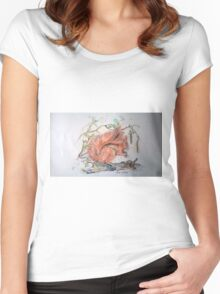 Red Squirrel Women's Fitted Scoop T-Shirt